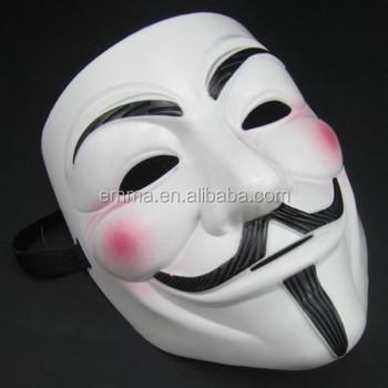 Black V For Vendetta Mask For Sale V Line Face Mask V Shape Face