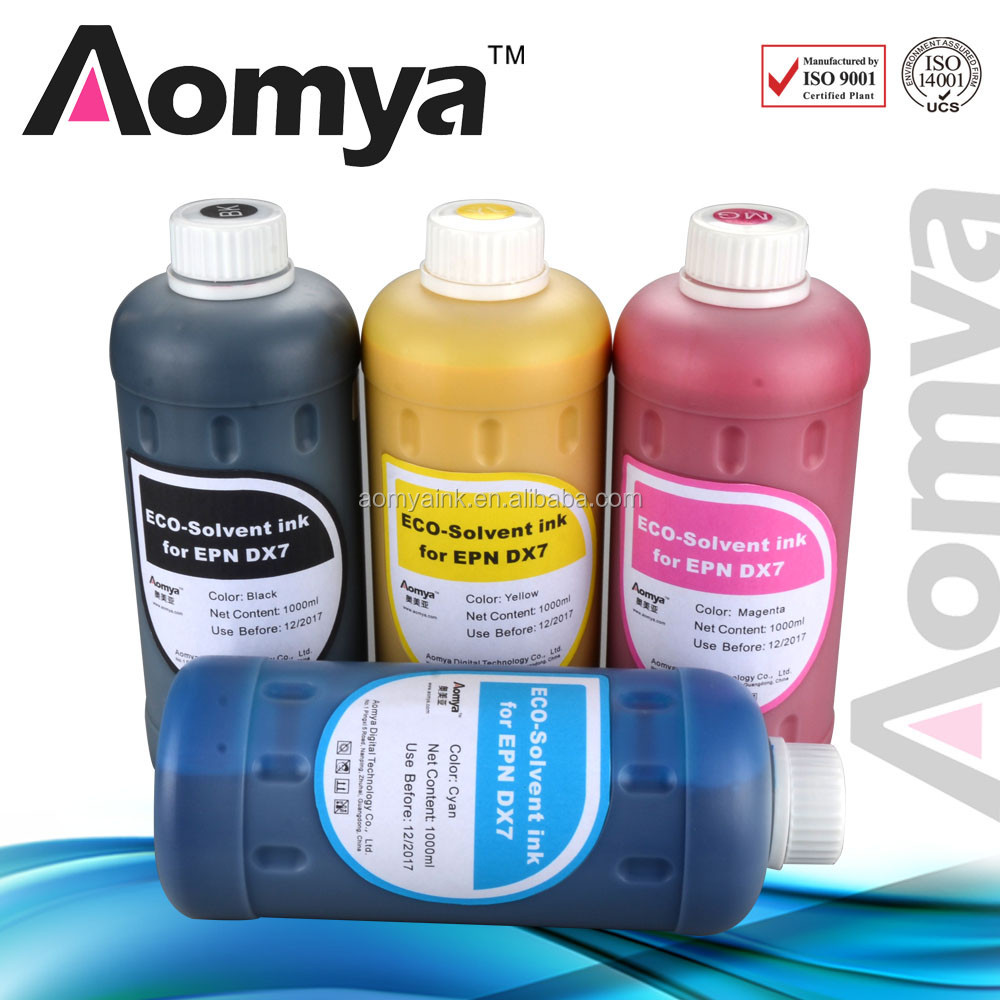 Aomya eco solvent ink FOR Roland /Mimaki /Mutoh for Epson DX5 DX6 DX7 print head