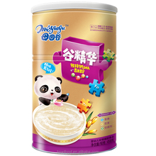 Gujinghua DHA Fe Ca Zn Fragrant Rice Baby Cereal 458g Tin Stage 1 2 3 baby food