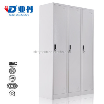 Clothes cabinet steel wardrobes metal lockers for for Aluminum kitchen cabinets saudi arabia