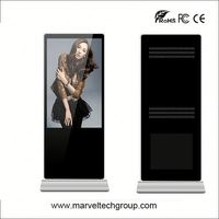 TOP high quality ipad shape floor stands digital signage with optional customized