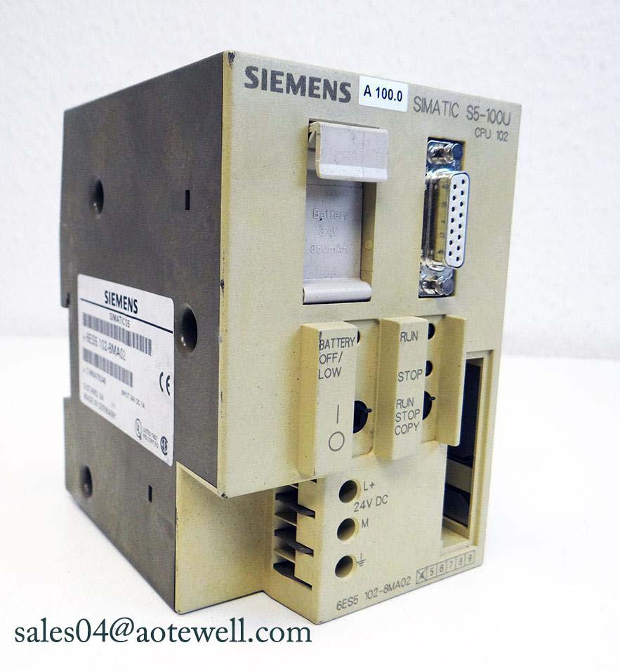Siemens SIMATIC 6es5102-8ma02 modulo s5