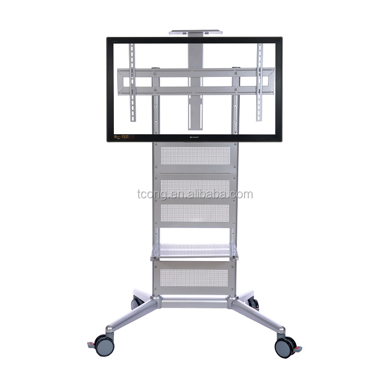 Mount Factory Rolling Tv Cart Mobile Tv Stand Buy Cheap Tv Stands