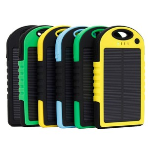 2019 New 50000mAh Solar Battery Charger ,USB Portable Waterproof Cell Phone Solar Power Bank