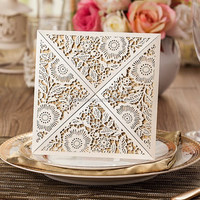 Wholesale Simple Design Laser Cut Cards