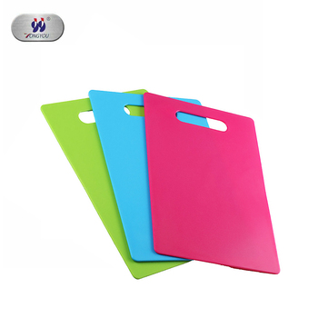 Colored Chopping Board Kitchenware Plastic Cutting