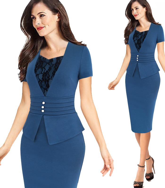 Straight dress for office ladies wear formal latest office dress designs фото