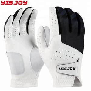 Top 10 colored wear resisting pu leather palm outdoor golf gloves for men women