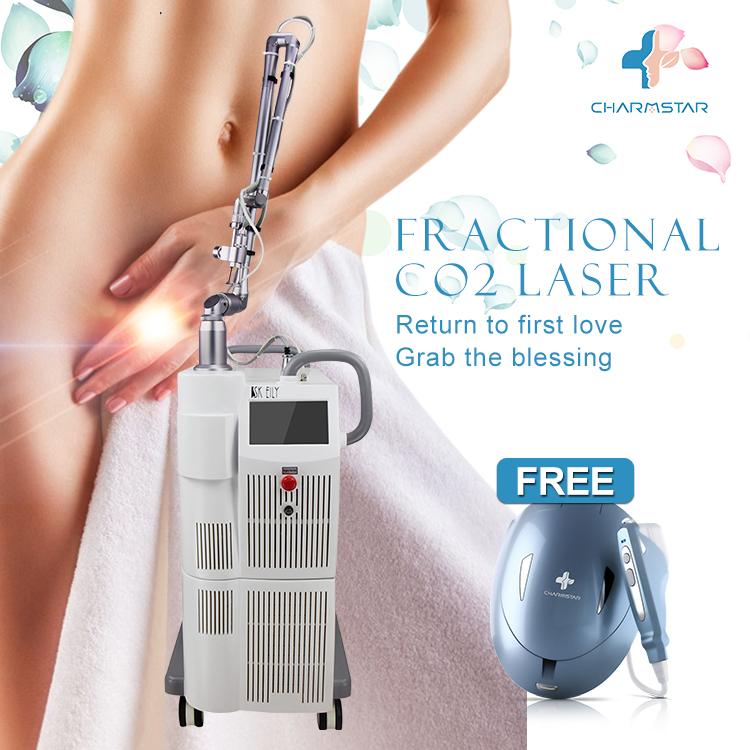 Fractional co2 laser equipment whitening vaginal tighening /skin tightening laser equipment co2 fractional for beauty clin