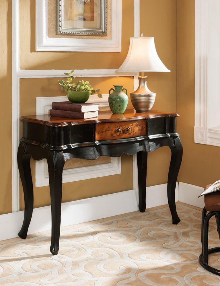 console de table pin rustique entr e console de table couloir console de table table en bois id. Black Bedroom Furniture Sets. Home Design Ideas