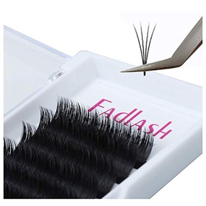 Supplies Custom Private Label Individual Volume Real Siberian Mink Eyelash Extensions With Tweezers