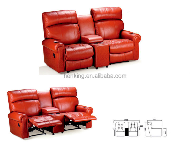 comfortable modern movie theater seat antique theater seats for sale (WH900)