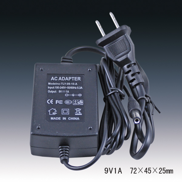 9V1A ac dc desktop power adapter for ADSL wireless router