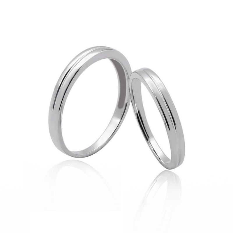 Double Wedding Ring Set Without Stones - Buy Wedding Ring For Men ...