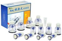Chinese acupuncture and moxibustion therapy cupping kits