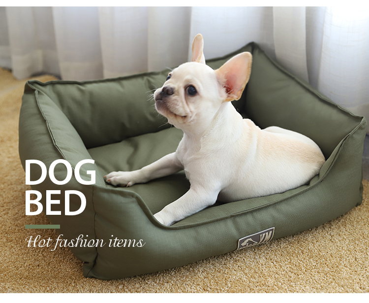 Three Colors Removable And Washable Waterproof Pet Dog Supplies Bed