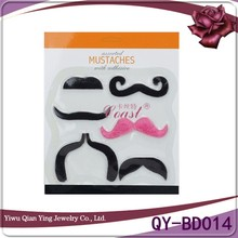 black halloween costume party funny artificial party fake mustache beards