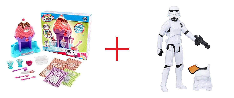 Buy Yummy Nummies Mini Kitchen Playset - Pink Sundae Maker and Star ...