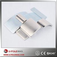 Strong Arc Motor Ndfeb Magnet