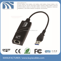 USB 3.0 to Gigabit Ethernet Network Adapter USB to RJ45 Lan converter 10/100/1000 Mbps