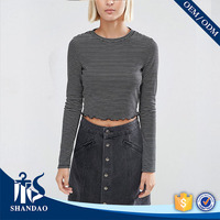 Made In China Factory Fashion Wholesale Cheap Mens T Shirt Striped O-neck 160g 100% cotton Long Sleeve t-shirts polo bangladesh