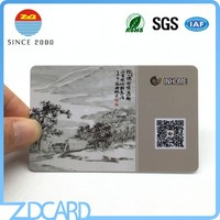 Wholesale China supplier plastic 13.56mhz rfid card with QR code