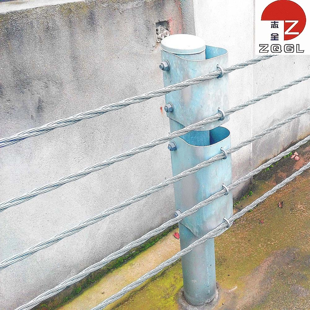 Wire Rope Cable Barrier, Wire Rope Cable Barrier Suppliers and ...