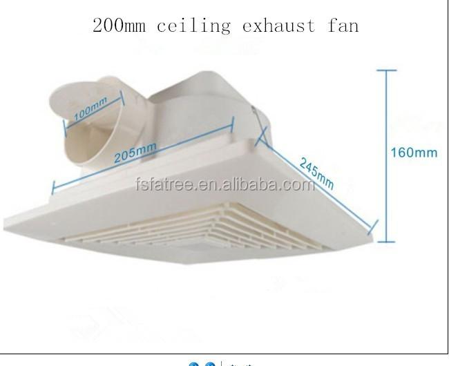 Low noise bathroom ceiling fan kitchen plastic indoor exhaust fan low noise bathroom ceiling fan kitchen plastic indoor exhaust fan aloadofball Image collections