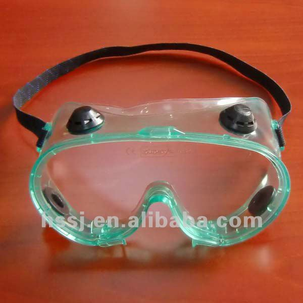 2016 PVC safety goggles dental safety goggles with 4 holes medical safety goggles for eyes protection