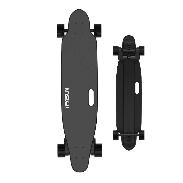 Ifasun dropship 45km/h boosted board dual belt motor drive longboard fastest electric skateboard, Customized