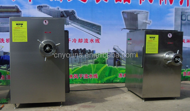 industrial meat grinding machine for meat product processing