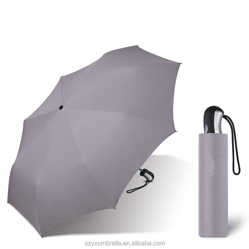 essential item rain proof steel frame printed folding umbrella