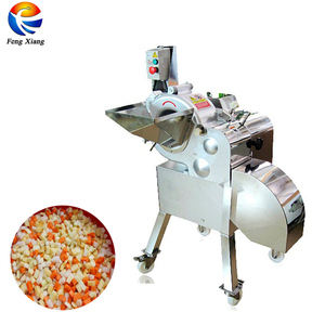 Industrial Mango Apple Pineapple Fruit Cutter Dicer Cutting Machine