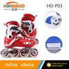 2016 colorful fashion inline skates/speed inline skating for kid's toy