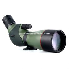 Suncore High Definition20-60x82mm ED II Waterproof Angled Zoom Spotting Scope for Bird Watching with Carry Case