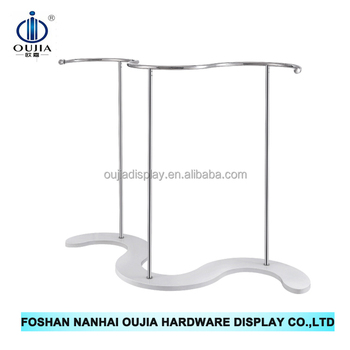 Modern Clothes Stand To Hang Clothes/s Shaped Display Furniture/metal  Clothes Stands