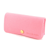Cute pink felt glasses bag eyeglasses pouch for girls