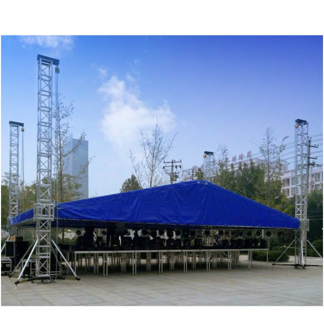High quality wholesale cheap metal truss base aluminum truss stage