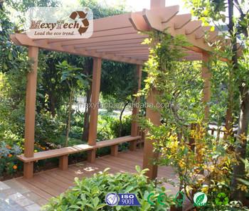 Wpc Parco Giardino Piante Rampicanti Di Legno Pergola
