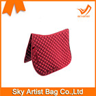 Fashionable Custom Red Saddle Pads English