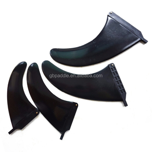 Various Sizes & Hot Sale Longboard Plastic Single Surfboards Fin