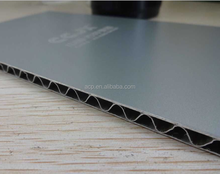 A2 grade fireproof aluminum corrugated honeycomb composite panel for building facade