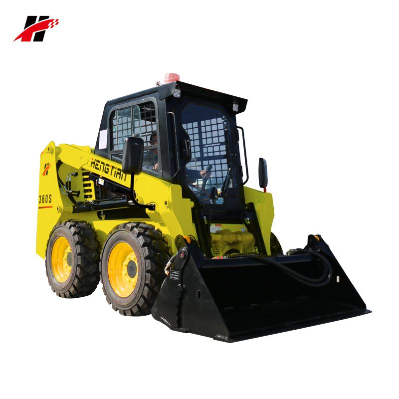 Micro compatto taian minicargadoras JC45 parti bobcat S130 S180 S550 60hp cinese skid steer loader in vendita