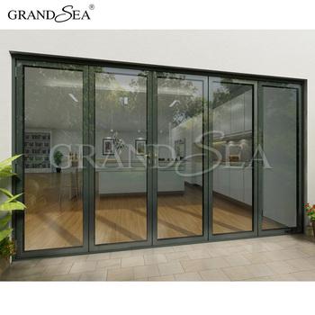Aluminum Folding Door Bi Folding Doors Used Commercial Glass Doors ...