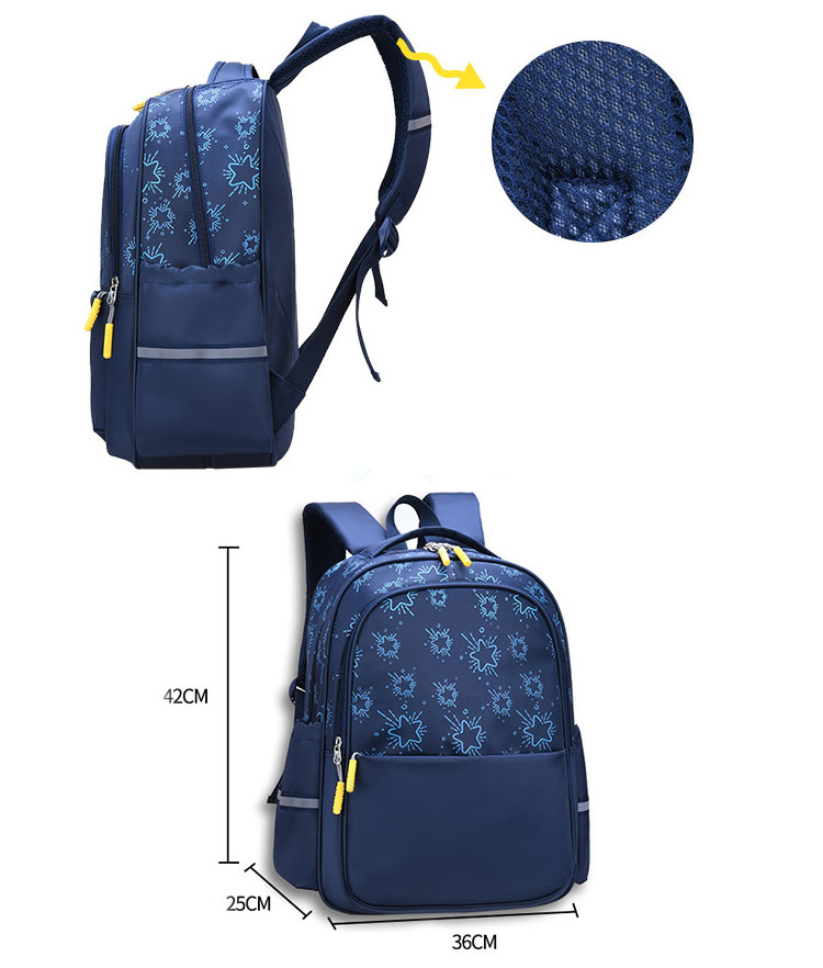 High quality school bags nylon shoulders kids backpack