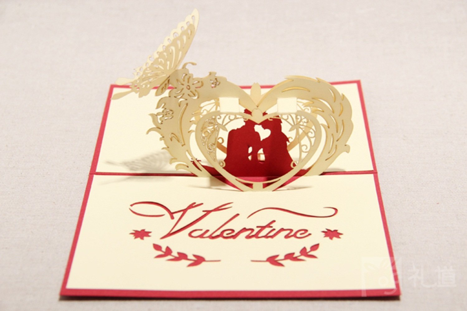 Cheap greeting card craft ideas find greeting card craft ideas get quotations 3d pop up handmade cards creative greeting cards paper craft valentine card red m4hsunfo