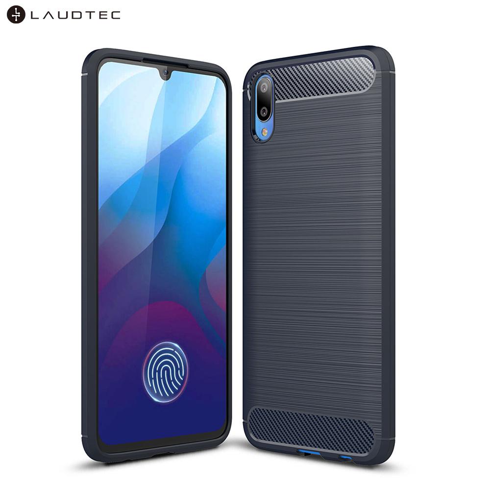 Carbon Fiber Soft Tpu Back Cover Phone Case For Vivo V11 Pro фото
