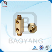 High quality machining service metal brass small cnc turning parts