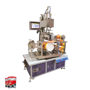 UC 600 automatic bottle rotary heat transfer  film printing labeling machine