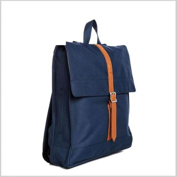 5e844385d711 2016 Fashionable Casual Cheap Plain Blue Washed Denim Backpack for Girls  and Boys